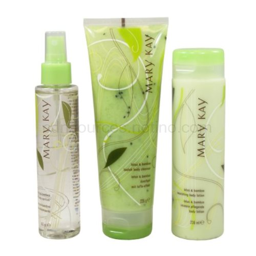 Mary Kay Body set Lotus a bamboo I. 3 ks
