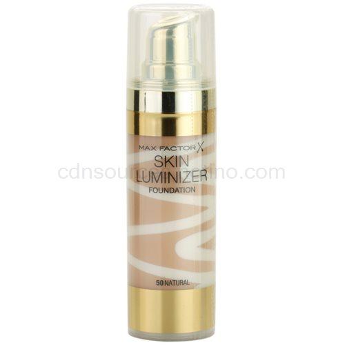 Max Factor Skin Luminizer rozjasňující make-up odstín 50 Natural 30 ml