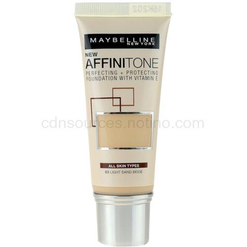 Maybelline Affinitone Affinitone hydratační make-up odstín 03 Light Sand Beige 30 ml