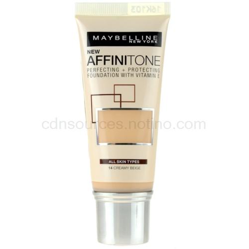 Maybelline Affinitone Affinitone hydratační make-up odstín 14 Creamy Beige 30 ml