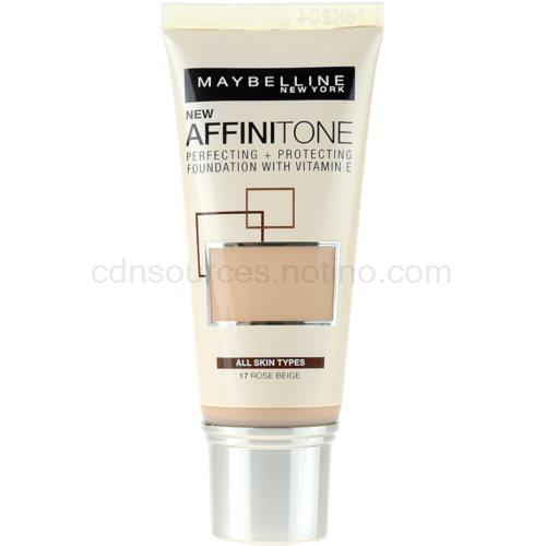 Maybelline Affinitone Affinitone hydratační make-up odstín 17 Rose Beige 30 ml