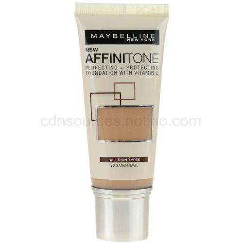 Maybelline Affinitone Affinitone hydratační make-up odstín 30 Sand Beige 30 ml