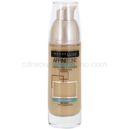 Maybelline Affinitone Mineral tekutý make-up odstín 30 Sand 30 ml