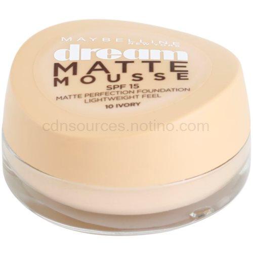 Maybelline Dream Matte Mousse matující make-up odstín 10 Ivory 18 ml