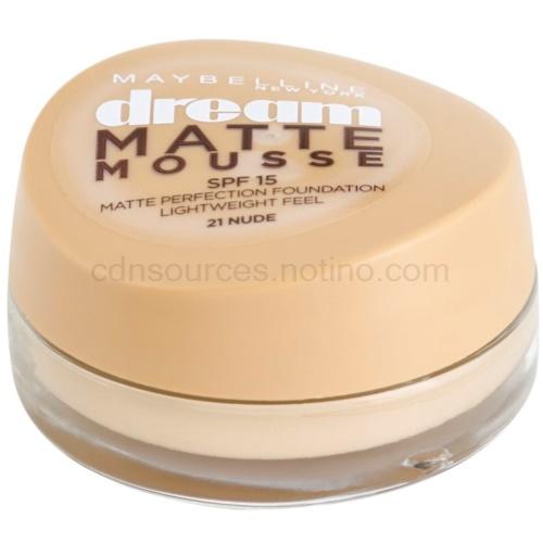 Maybelline Dream Matte Mousse matující make-up odstín 21 Nude 18 ml