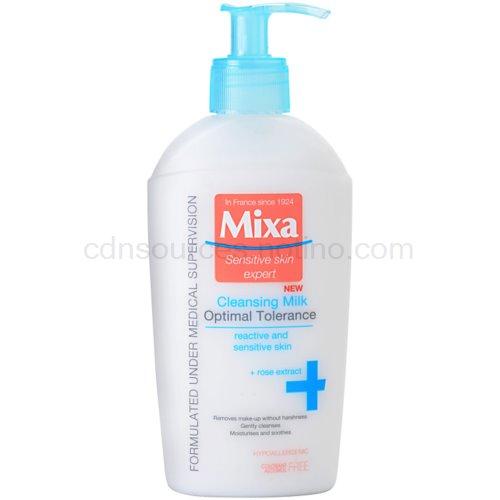 MIXA Optimal Tolerance odličovací mléko (Cleansing Milk) 200 ml
