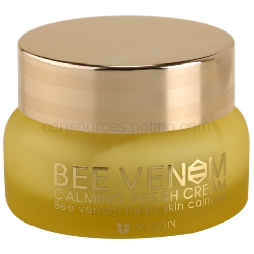 Mizon Bee Venom Calming Fresh Cream pleťový krém s včelím jedem (Unique Cream With Bee Venom And Propolis For Complex Care) 50 ml