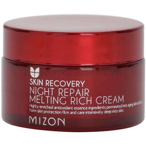 Mizon Skin Recovery noční omlazující krém pro rozjasnění pleti (Night Repair Melting Rich Cream) 50 ml
