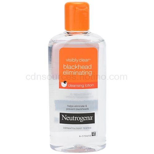 Neutrogena Visibly Clear Blackhead Eliminating pleťová voda proti černým tečkám (Cleansing Lotion) 200 ml