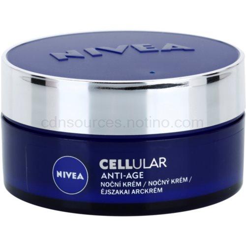 Nivea Cellular Anti-Age noční omlazující krém (Rejuvenating Night Cream 40+) 50 ml