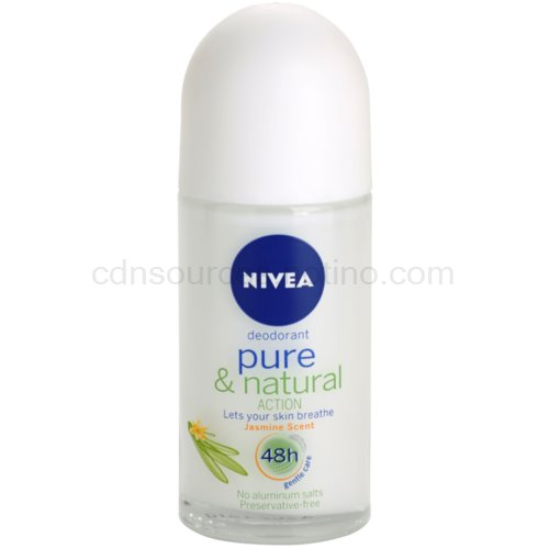 Nivea Pure & Natural deodorant roll-on 48h 50 ml