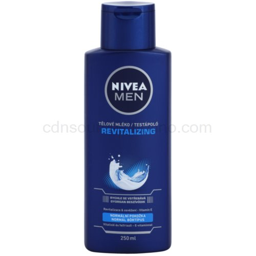 Nivea Men Revitalizing tělové mléko pro muže (Body Lotion) 250 ml