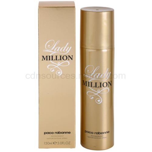 Paco Rabanne Lady Million 150 ml deospray
