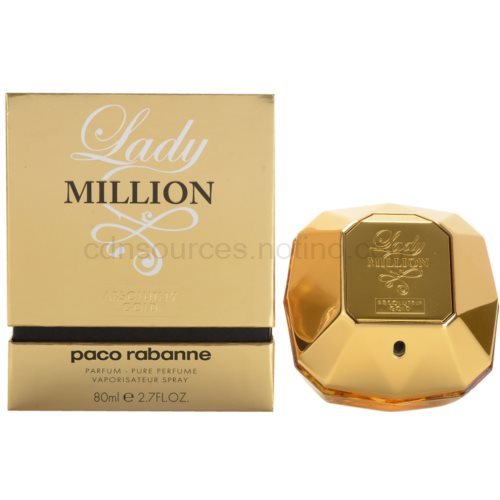 Paco Rabanne Lady Million Absolutely Gold 80 ml parfém