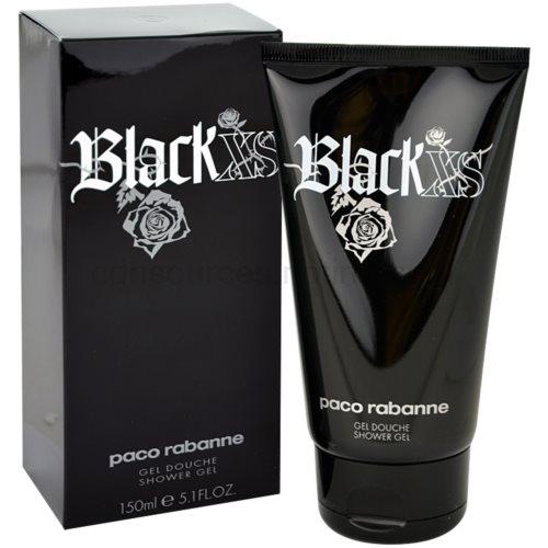 Paco Rabanne XS Black 150 ml sprchový gel