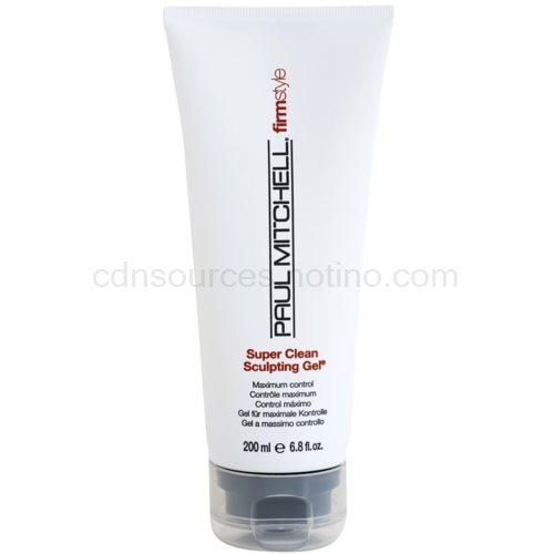 Paul Mitchell FirmStyle gel na vlasy pro definici a tvar (Super Clean Sculpting Gel, Maximum Control) 200 ml