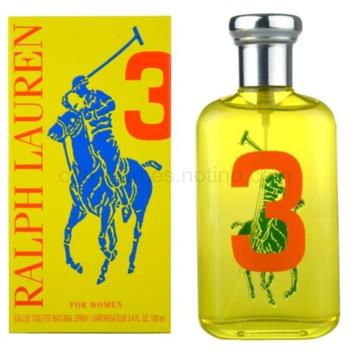 Ralph Lauren The Big Pony Woman 3 Yellow 100 ml toaletní voda