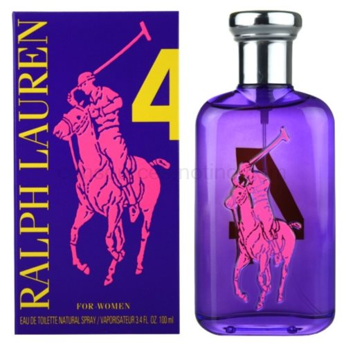 Ralph Lauren The Big Pony Woman 4 Purple 100 ml toaletní voda