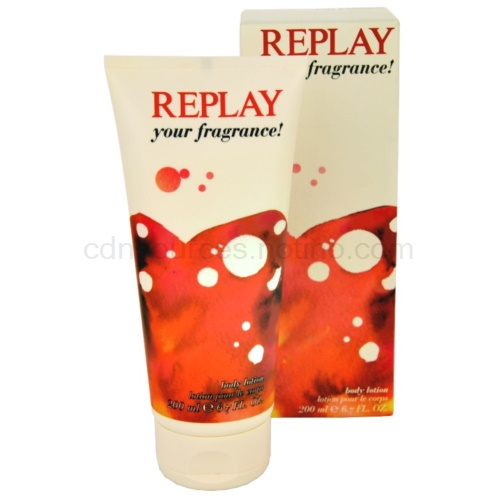Replay Your Fragrance! For Her 200 ml tělové mléko
