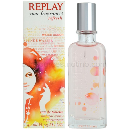 Replay Your Fragrance! Refresh For Her 40 ml toaletní voda