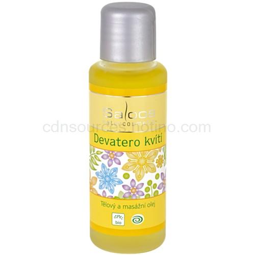 Saloos Bio Body and Massage Oils tělový a masážní olej devatero kvítí 50 ml