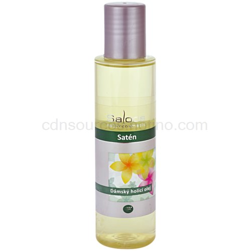 Saloos Shower Oil dámský holicí olej satén 125 ml