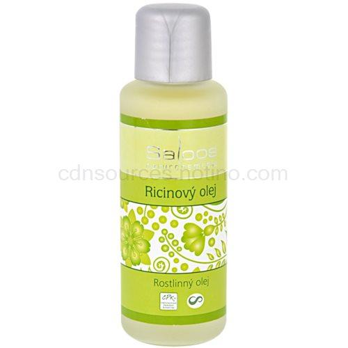 Saloos Vegetable Oil Vegetable Oil ricinový olej na obličej a tělo 50 ml