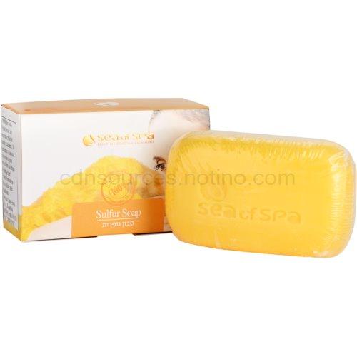 Sea of Spa Essential Dead Sea Treatment tuhé mýdlo se sírou 125 g