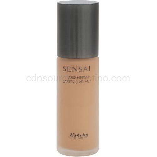 Sensai Fluid Finish Lasting Velvet fluidní make-up pro dlouhotrvající dokonalý vzhled pleti odstín FV 204 30 ml