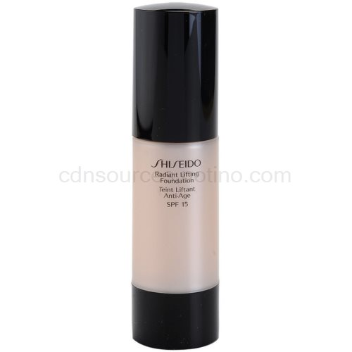 Shiseido Base Radiant Lifting rozjasňující liftingový make-up SPF 15 odstín B40 Natural Fair Beige 30 ml