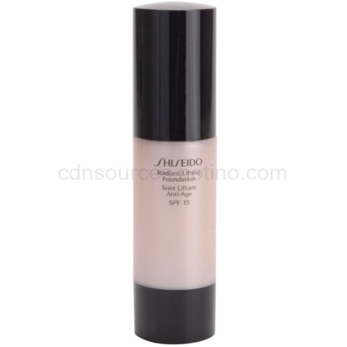 Shiseido Base Radiant Lifting rozjasňující liftingový make-up SPF 15 odstín I60 Natural Deep Ivory 30 ml
