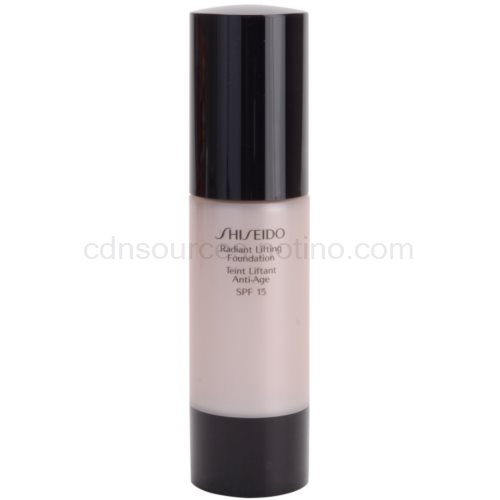 Shiseido Base Radiant Lifting rozjasňující liftingový make-up SPF 15 odstín WB40 Natural Fair Warm Beige 30 ml