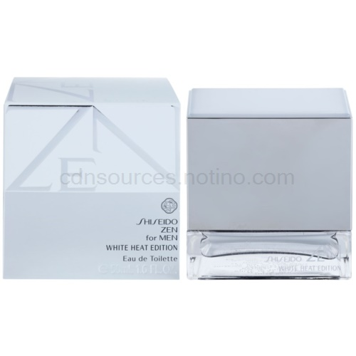 Shiseido Zen for Men White Heat Edition 50 ml toaletní voda