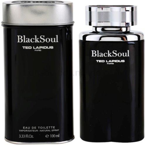 Ted Lapidus Black Soul 100 ml toaletní voda