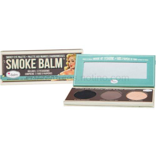 theBalm Smoke Balm Volume paleta očních stínů Volume 1 10,2 g
