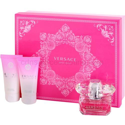 Versace Bright Crystal 50 ml dárková sada