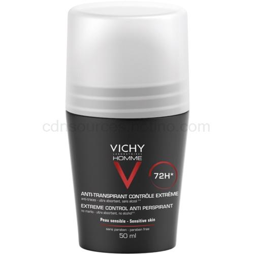 Vichy Homme Deodorant antiperspirant roll-on proti nadměrnému pocení 50 ml
