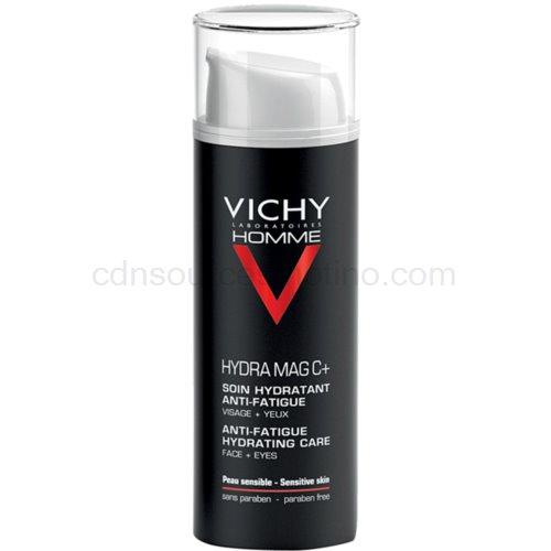 Vichy Homme Hydra-Mag C hydratační péče proti známkám únavy na pleť a oční okolí 50 ml