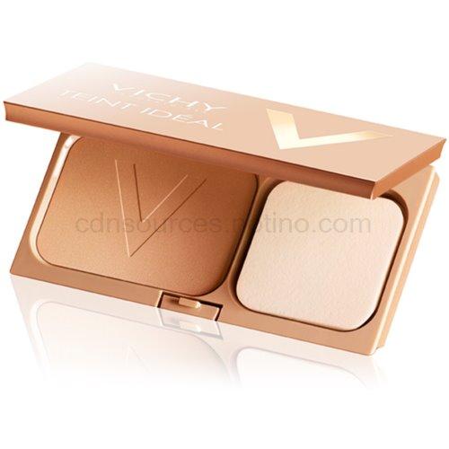 Vichy Teint Idéal rozjasňující kompaktní pudr pro ideální odstín pleti odstín 3 Tan Fonceé SPF 25 9,5 g