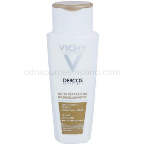 Vichy Dercos Nutri Reparateur vyživující šampon pro suché a poškozené vlasy (Nourishing Reperative Cream Shampoo) 200 ml