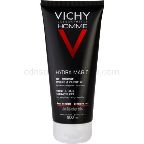 Vichy Homme Hydra-Mag C sprchový gel na tělo a vlasy (Hydra Mag C Shower gel) 200 ml