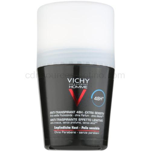 Vichy Homme Déodorant deodorant roll-on bez parfemace 48h (Anti-Perspirant Deodorant, Sensitive skin) 50 ml