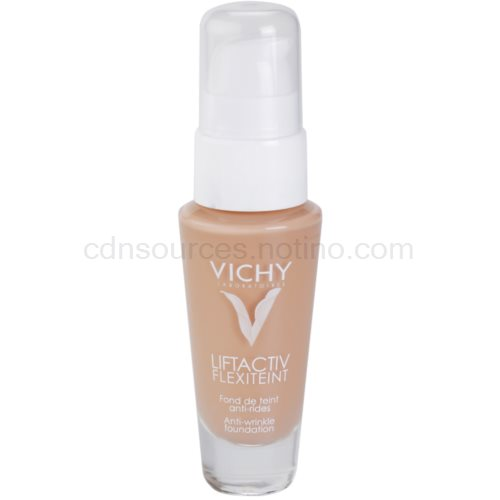Vichy Liftactiv Flexiteint omlazující make-up s liftingovým efektem odstín 35 Sand SPF 20 (Anti-Wrinkle Foundation) 30 ml