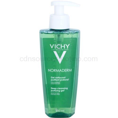 Vichy Normaderm Normaderm čisticí gel pro stárnoucí pleť s nedokonalostmi (Deep Cleansing Purifying Gel) 200 ml