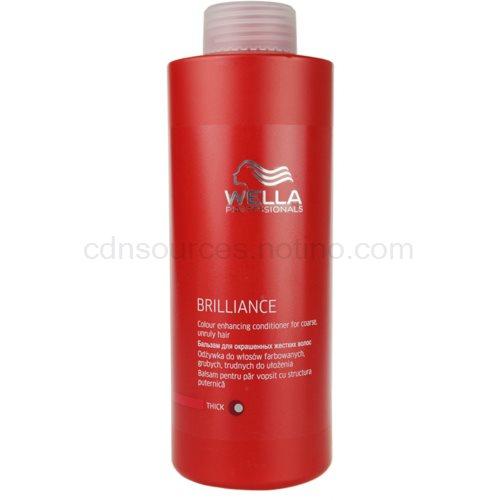 Wella Professionals Brilliance kondicionér pro hrubé, barvené vlasy (Conditioner for coarse hair) 1000 ml