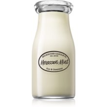 Milkhouse Candle Co  Creamery Moroccan Mint Scented Candle Milkbottle