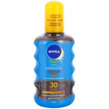 Nivea Sun Protect & Bronze Dry Sun Oil SPF 30