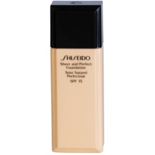 85afca3b7 SHISEIDO BASE SHEER AND PERFECT maquillaje líquido SPF 15 | notino.es