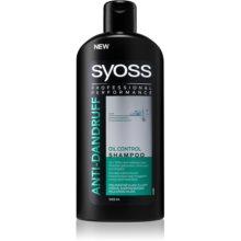 syoss anti dandruff oil control shampoo f r fettige haare. Black Bedroom Furniture Sets. Home Design Ideas