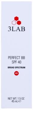 3Lab BB Cream Crema BB cu efect hidratant și anti-rid  SPF 40 3
